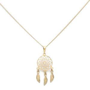 Collar Atrapasueños Oro