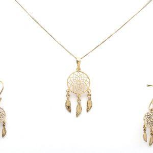 Set Atrapasueños Oro